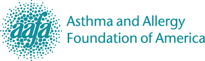 Asthma and Allergy Foundation of America logo.