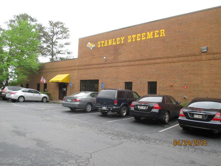 Exterior of the Atlanta, Georgia Stanley Steemer office.