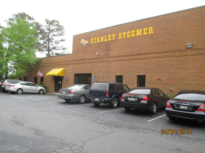 Exterior of the Atlanta, Georgia Stanley Steemer office.