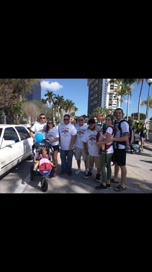 Delray Beach, Florida crew at the Autism Speaks Walk.