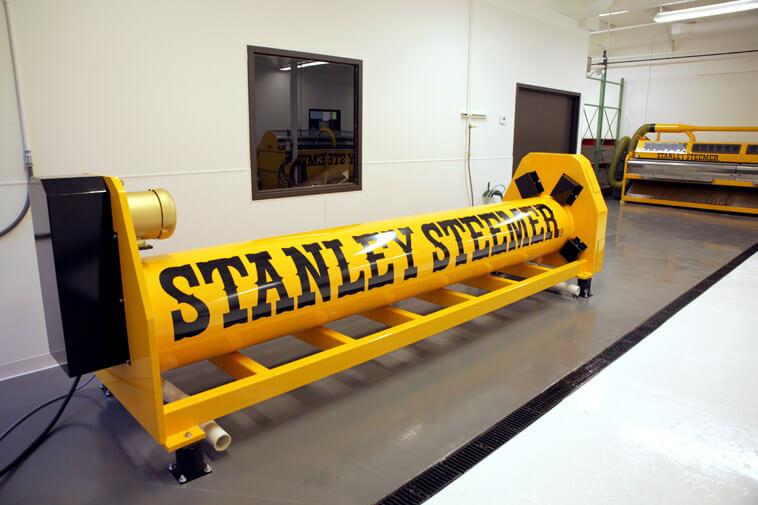 Stanley Steemer Fine Area Rug Cleaning Equipment in Grand Rapids Michigan