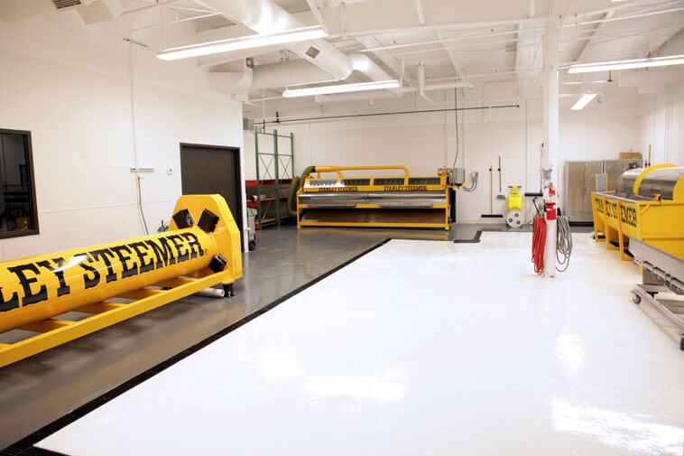 Stanley Steemer Fine Area Rug Cleaning Equipment in Grand Rapids Michigan