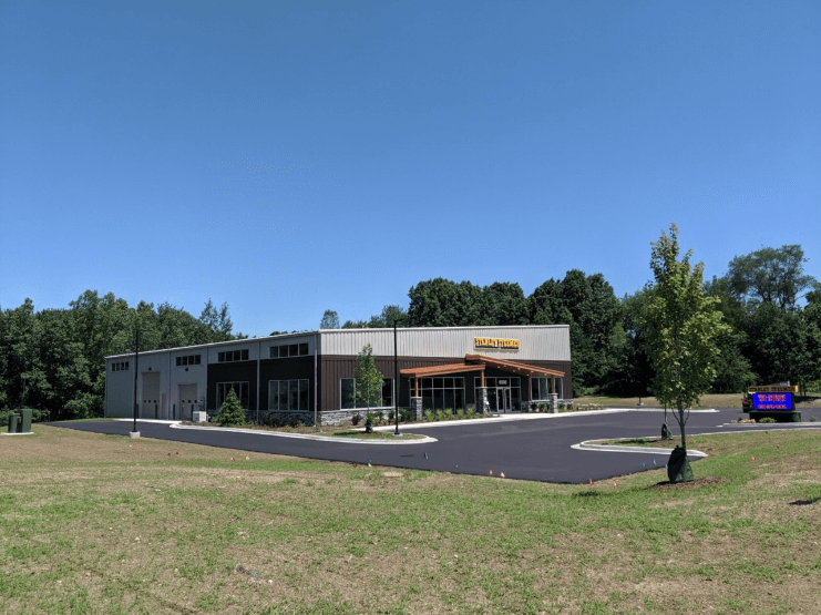 Outside view of Stanley Steemer Flooring Showroom and Design Center