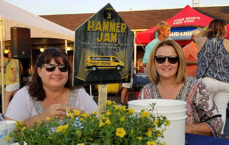 Habitat for Humanity Hammer Jam Stanley Steemer Sponsorship in Leesburg Georgia