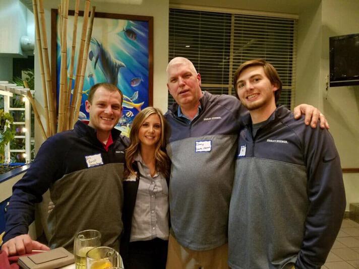 Stanley Steemer team at Chamber of Commerce meeting in Marlborough Massachusetts
