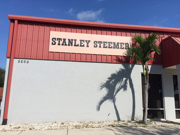 Front of the Stanley Steemer office building in Sebring, Florida.