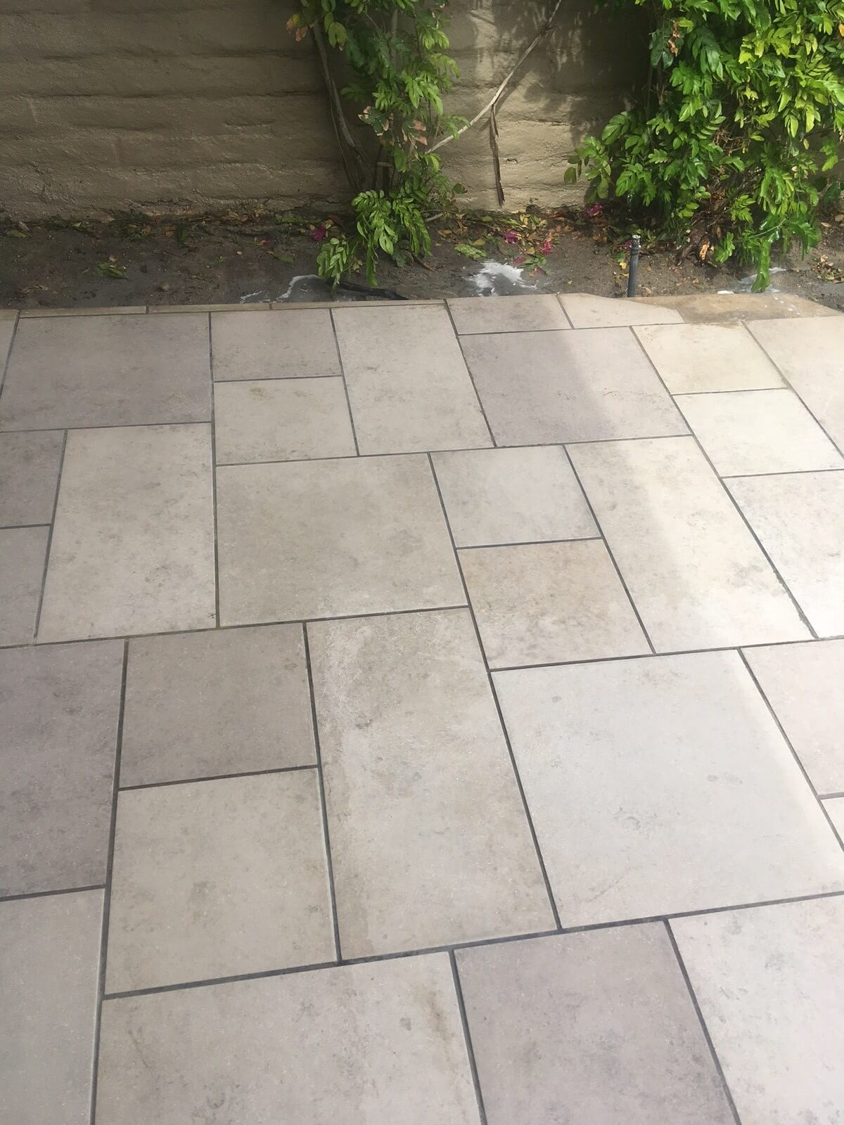 Cleaned natural stone in Palm Desert
