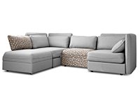Off white sectional couch