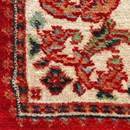 Clean oriental fine area rug