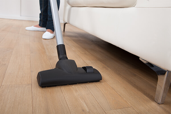 As you walk through your house you tend to walk in similar patterns over and over again. This leads to parts of your floors getting extra heavy traffic.