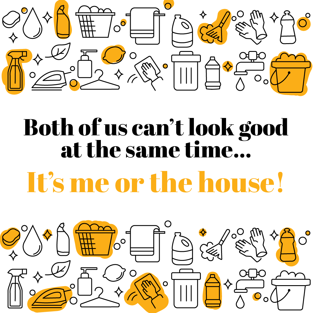 Quote: Both of us can't look good at the same time...It's me or the house!