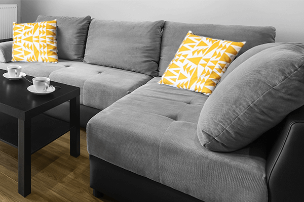 Sofas can be a nightmare to clean. Here's some DIY tips for the three most common types of couches.